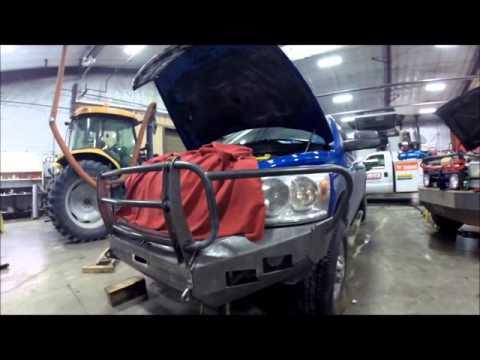 2008 Dodge Move bumper build