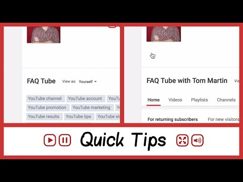 How To Change A YouTube Channel Name 2016 - FAQ Tube