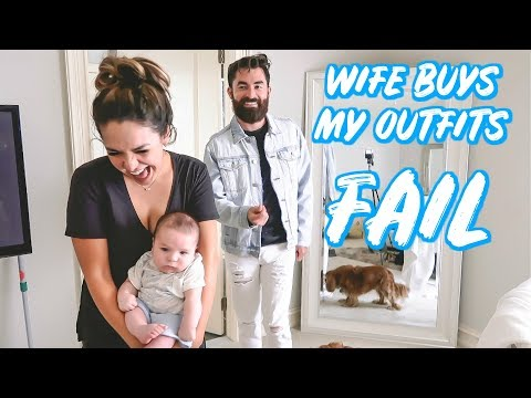 WIFE BUYS MY OUTFITS (HILARIOUS) | ALEX AND MICHAEL