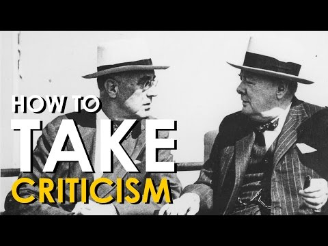 How to Take Criticism | Art of Manliness