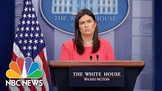 White House Press Briefing - May 22, 2018 | NBC News