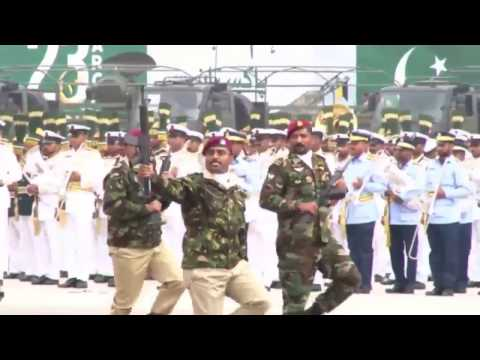 Pakistan Army Women Soldiers and SSG Amazing Parade on 23rd March Pakistan Day