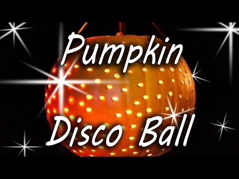 Pumpkin Disco Ball - Halloween Party