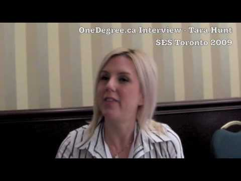 Interview with Tara Hunt at SES Toronto 2009