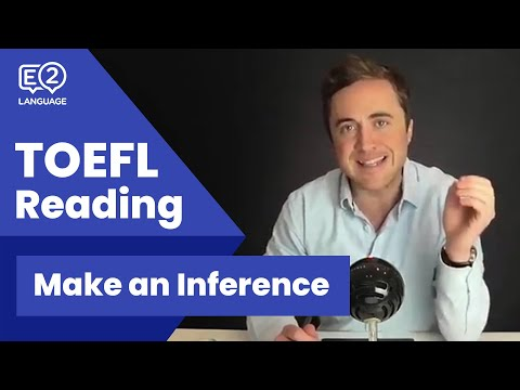 TOEFL Reading: Make an Inference | Proven METHOD with Jay!