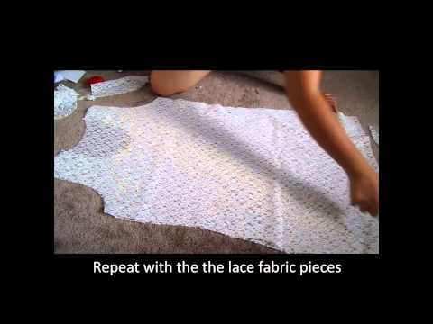 How to make a lace tank dress