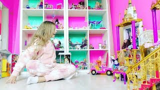 Download САМЫЙ ОГРОМНЫЙ ДОМ для БАРБИ !!! Barbie in a Dream House .Видео для детей Video