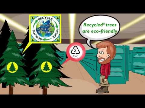 Oncor Recycled Christmas Trees