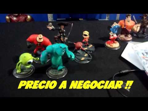 Disney INFINITY para XBOX 360 en Venta mas Figuras !!