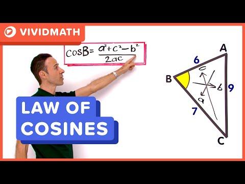 Maths: Cosine Rule - VividMaths.com
