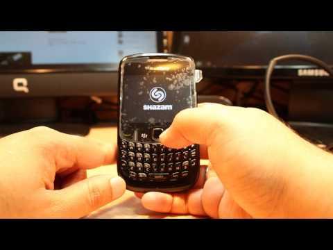 Shazam install  & use in BlackBerry curve 8520