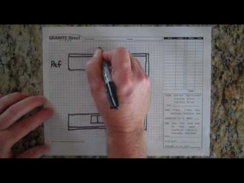 How To Measure Countertops Presented by Granite Direct