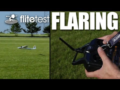 Flite Test - Flaring - FLITE TIP