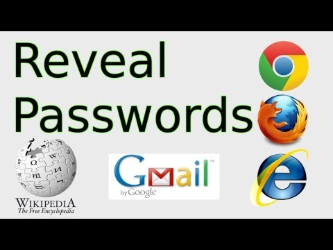 How to Reveal Passwords (Copy from Password field & Inspect Element in Chrome, FireFox)