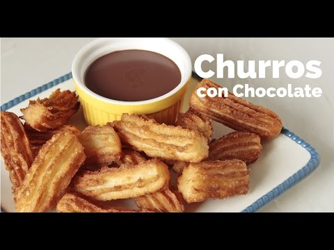 Churros con Chocolate Recipe | Yummy Ph