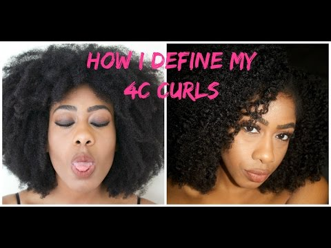 Quick Braidout on 4C Hair (Curl Definition)