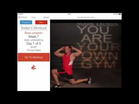 You Are Your Own Gym - fitness app review