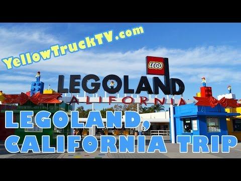Trip to LegoLand California Amusement Park in Carlsbad near San Diego Lego by FamilyToyReview