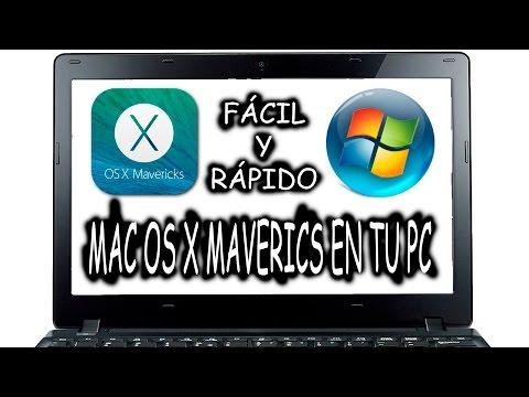 Instalar Mac OS X en PC vía USB fácil Dual Boot