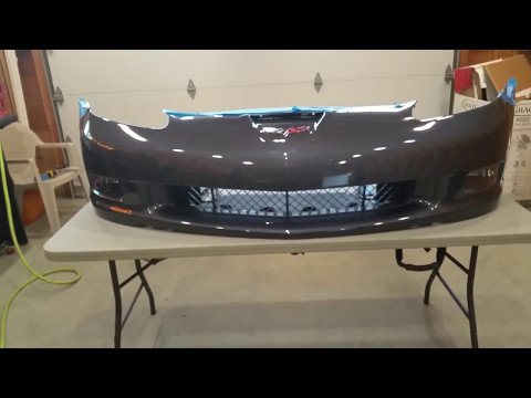 How to get more air flow to intercooler by modifying front fascia/air dam. Boosted C6 Build. Part 47