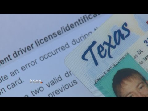 Texas DPS vendor issues thousands of faulty drivers licenses