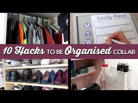 10 Hacks To Be Super Organised Collab | A Thousand Words