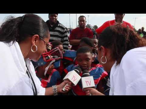 TwinSportsTV: Interview with Eight Mile Giants 8U Football Team