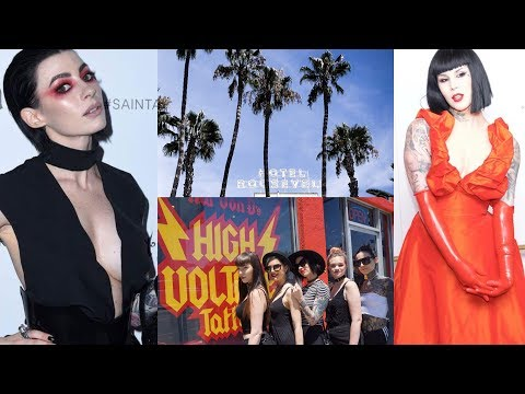 LA VLOG | Kat Von D Saint + Sinner Party + Shopping & High Voltage Tattoo
