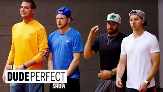 Cory Cotton Takes On A Ping Pong Champion! | The Dude Perfect Show