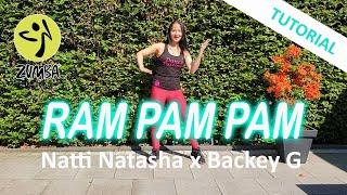 Ram Pam Pam Tutorial   Natti Natasha feat  Becky G   Uitleg danspasjes   Dance Passion Zumba