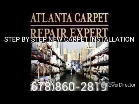 Step by Step New Carpet Installation