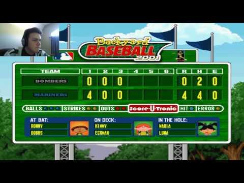 Backyard Baseball 2001 Extra Innings Pt. 2 Home Ronny
