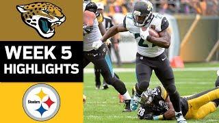 Jaguars vs. Steelers | NFL Week 5 Game Highlights