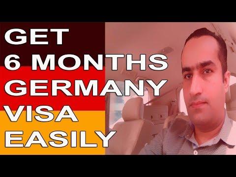 Germany Job Seeker Visa For 6 Months Get Easily