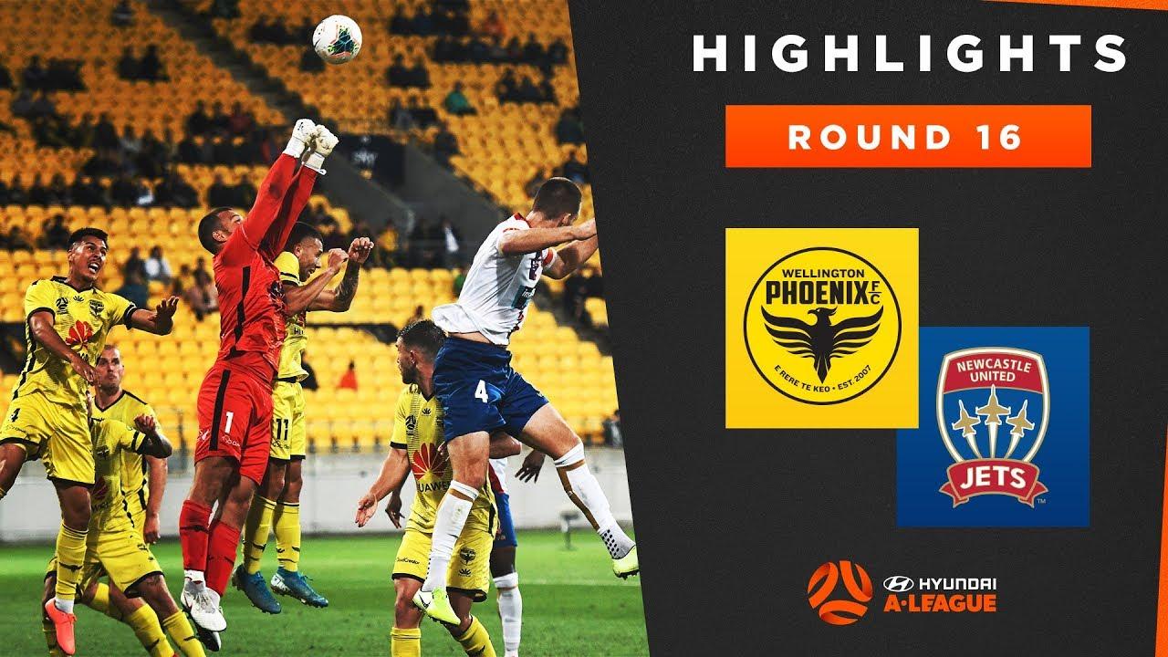 Highlights: Wellington Phoenix v Newcastle Jets FC – Round 16 Hyundai A-League 2019/20 Season