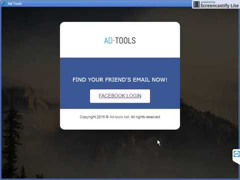 How to find your Facebook Friends' email address?