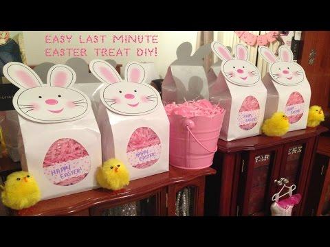 DIY Easter Treat Gift Bag