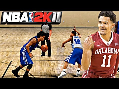 NBA 2K11 MyPLAYER TRAE YOUNG #2 - FIRST EVER ANKLE BREAKER! SPLASHING 3's IN THE FIRST COMBINE GAME!