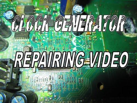 clock generator circuit repair tips in motherboard