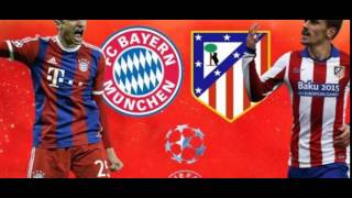 مباراة البايرون ضد اتلتيكو مدريد مباشر HD 03.05.2016