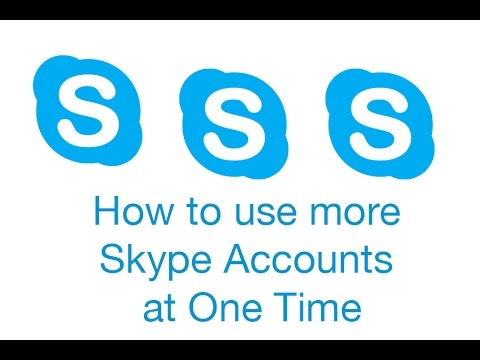 How you use multiple Skype accounts at same time on Mac