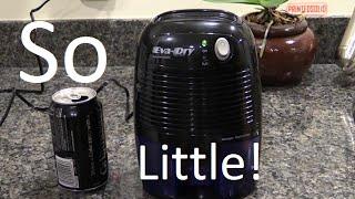 Eva-dry Electric Petite Portable Dehumidifier Review