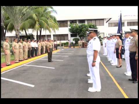 22 APR 13  DONNING OF RANKS OF NEWLY PROMTED OFFICERS
