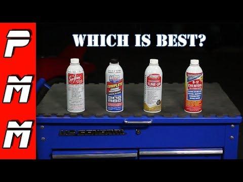 Wich fuel additive is best? B12 Chemtool vs Gumout vs Lucas Oil vs Gumout