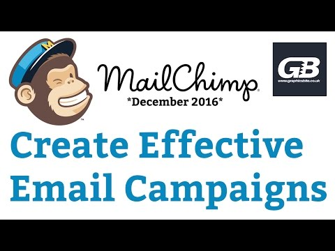 How To Create Successful Email Campaigns with MailChimp Tutorial **Dec 2016 Updated**