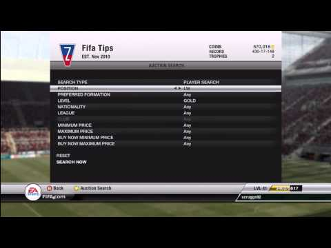FIFA 12 Ultimate Team: Coin Making Tutorial - Rare Gold Players