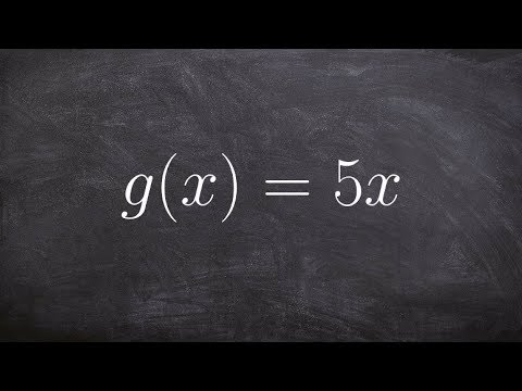 How to find the inverse of a direct variation function