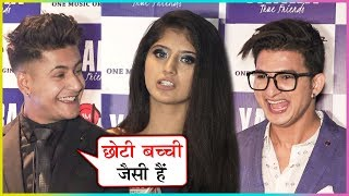 Manjul Khattar And Ajaz Ahmed Makes FUN Of Arishfa Khan | Yaara Music Video Launch