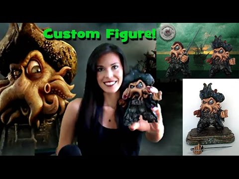Custom Figure  - The making of a Davy Jones armature sculpture