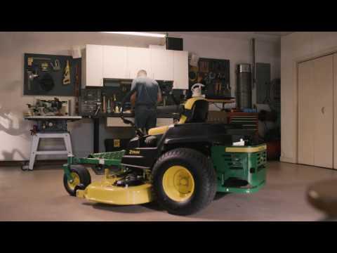 How To Change Air Filter | John Deere ZTrak Zero Turn Mower Maintenance